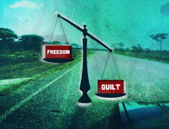 The clash of freedom and guilt