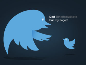 A Decade of Dad-Tweets